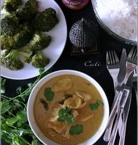 Curry de Dinde aux Feuilles de Citron Kaffir