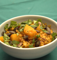 Curry de Lentilles Pondichéry au potimarron