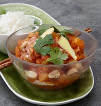 Curry Thaï de légumes au lait de coco