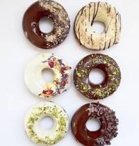 Donuts sans sucre ni matières grasses rajoutés VEGAN