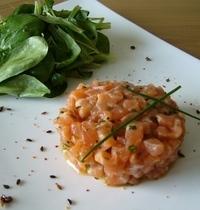 Double salmon tartare