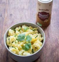 Ecrasé de pommes de terre au Bouillon Tonique