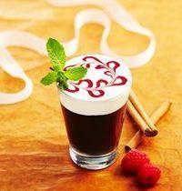 Espresso doux et fruité et nuage de meringue à l'italienne