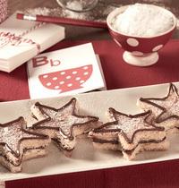 Étoiles de pain perdu au Nutella