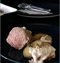Filet Mignon & Pommes de Terre à la Feta, Cuisson à l'Etouffée
