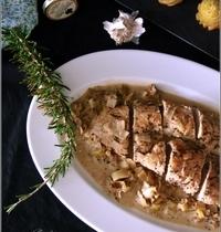 Filet Mignon de Dinde à la Moutarde & au Poireau