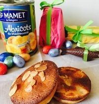 Financier de Pâques aux abricots Saint Mamet