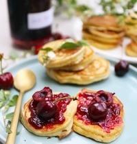 Fluffy pancakes (à IG bas)