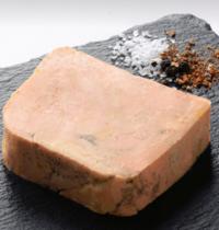 Foie gras de canard confit à basse température