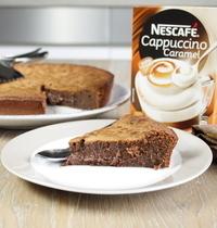 Fondant au choco-cappuccino caramel