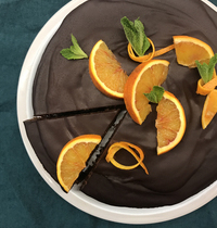 Fondant au Chocolat à l'orange