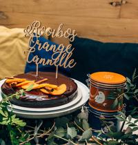 Fondant au Chocolat infusé au Rooibos Orange Cannelle