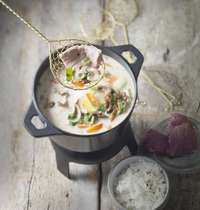 Lamb hot-pot Thai-style