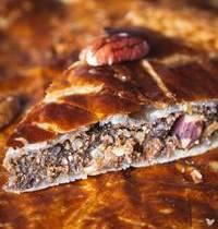 Galette des rois noix de pécan & sirop d'érable (Vegan)