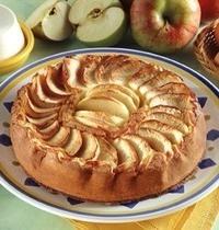Gâteau à la pomme sans beurre