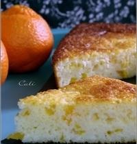 Gâteau à la Semoule & à la Mandarine