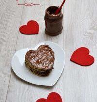 Gâteau aux crêpes à la pâte à tartiner