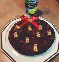 Gâteau choco fondant à l'ananas