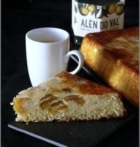 Gâteau de Semoule aux Mirabelles & Pistache
