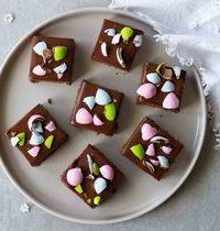 Gâteau moelleux au chocolat, pour Pâques