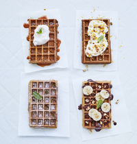 Gaufre Carrot Cake