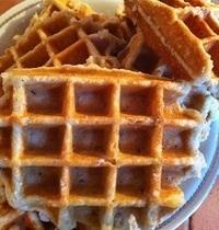 Chuck's Liège waffles