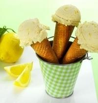 Glace mascarpone au citron
