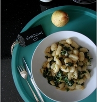 Gnocchi aux Epinards, Poire & Roquefort