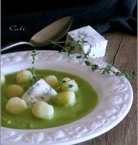 Gnocchi Di Patate aux Petits Pois & Gorgonzola
