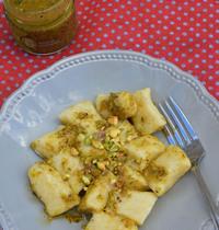Gnocchis de pommes de terre au pesto de pistache