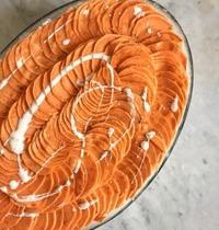 Gratin de pommes de terre à la scamorza