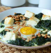 Green Shakshuka ou le petit déjeuner comme au Maghreb