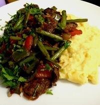 Grillés de légumes au boeuf