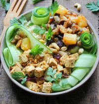 Hawaïian Tofu Bowl
