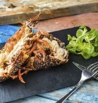 Homard grillé et son beurre de corail