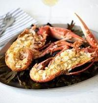 Homards grillés au beurre d'orange