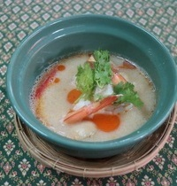 Hot and sour prawns soup | tom yum goong