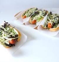 Hotdog à la courgette