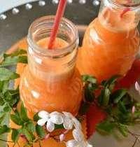 Jus de pamplemousse rosé-orange-carotte