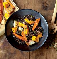 La recette d'Anne : le quinoa aux légumes d'automne