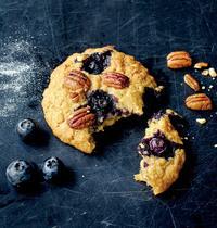 Marie Laforet's blueberry-pecan-maple cookies