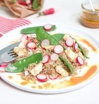 La salade printanière à la Foodette