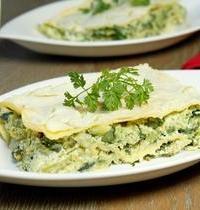 Lasagne de légumes verts et ricotta
