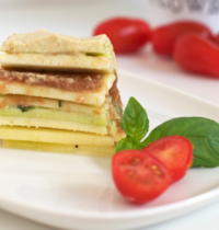 Lasagnes crues, vegan et sans gluten
