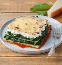 Lasagnes Veggie - chèvre et épinard