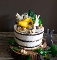 layer cake ananas chocolat