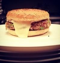 Julie's veggie burger