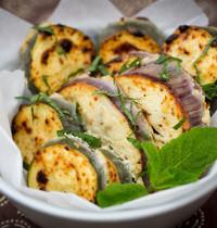 Tandoori-style vegetables