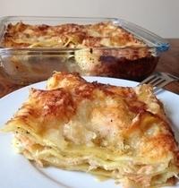 Les lasagnes au saumon (version simplifiée!)