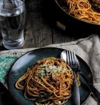 Les spaghetti à la Bolognaise : Forza Bologna